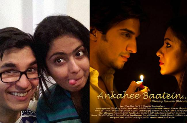 Producer Manav Bhinder gets talking about his new short film, Ankahee Baatein :   Manav Bhinder, Director and co-writer turns Producer