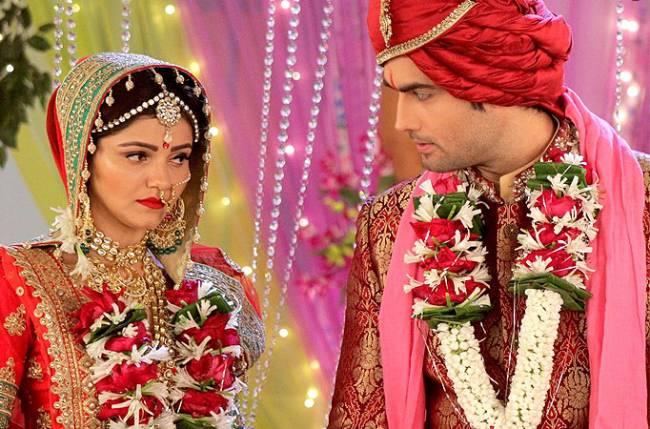 Drama galore wedding ceremony in Colors' Shakti