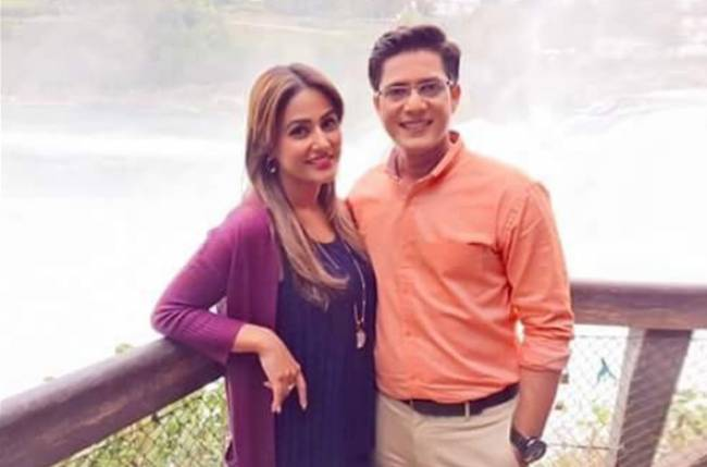 Hina Khan Gives Tips To Vishal Singh Hina khan is a popular indian tv actress who shot to fame with her role of akshara in star plus' later, his wife, nisha raval made a facebook post and wrote about her husband's devotion for the. hina khan gives tips to vishal singh