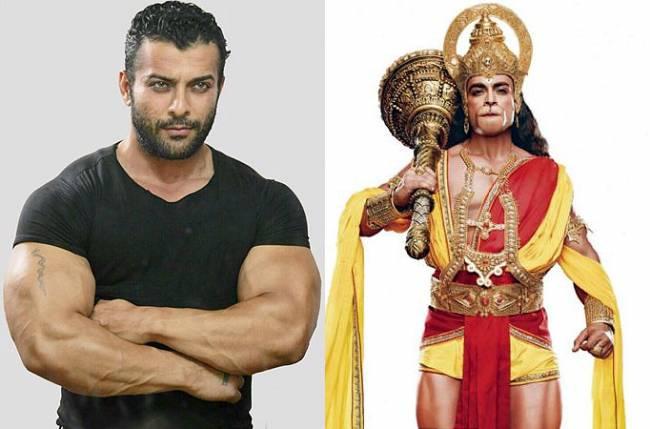 Nirbhay Wadhwa playing as Hanuman