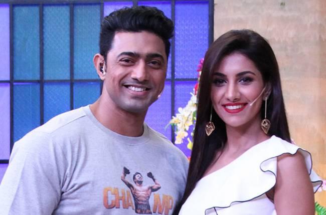 Dev and Rukmini to promote Champ in Zee Bangla's Apur Sansar