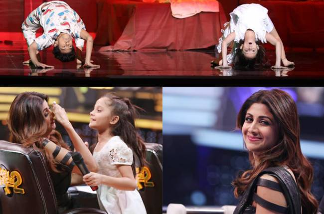 What scares Shilpa Shetty on Super Dancer Chapter 2 Set!
