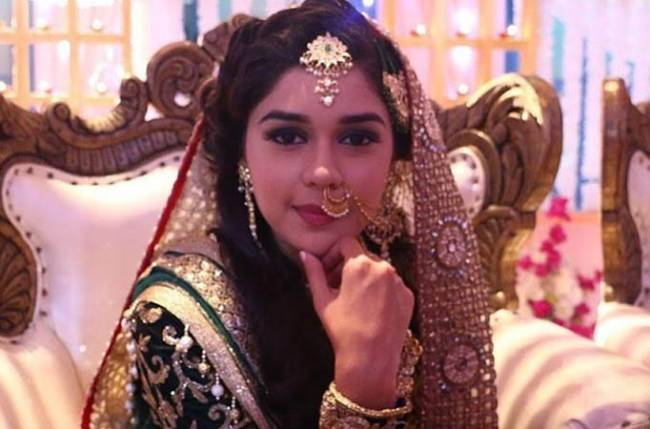 Image result for Eisha Singh who plays Zara in Ishq Subhan Allah