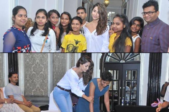 Hina Khan Creates Unforgettable Memories With Cancer Patients