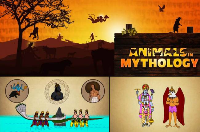 EPIC launches new animated series - animals in mythology