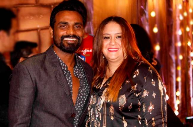 Remo D'Souza's wife tattoos his name on her wrist for Karwa Chauth
