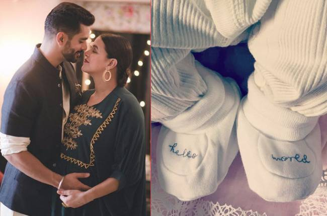 Neha and Angad name their daughter Mehr Dhupia Bedi