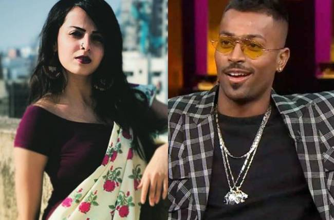Shrenu Parikh takes a dig at Hardik Pandya for his sexist remarks?