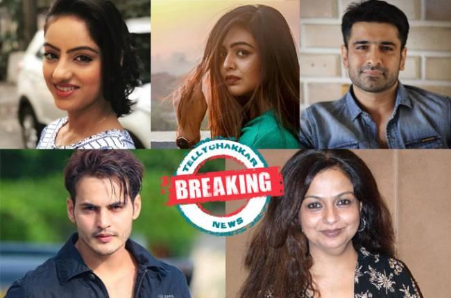Deepika Singh, Shafaq Naaz, Eijaz Khan, Ravi Bhatia, and Neelima