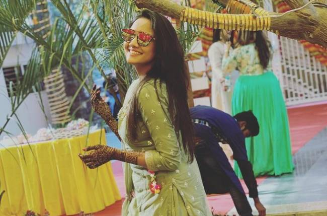 Ashi Singh to take lessons from her best friend's wedding