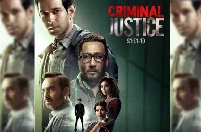Criminal Justice' is the latest trailblazer on the OTT block