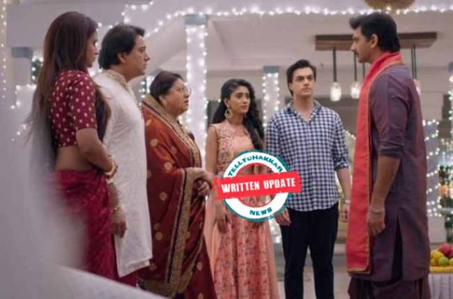 Yeh Rishta Kya Kehlata Hai: Manish insists Naira must work with