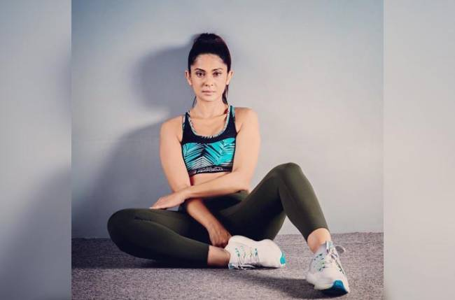 Beyhadh 2's Jennifer Winget shares a sneak peek of her Pilates session