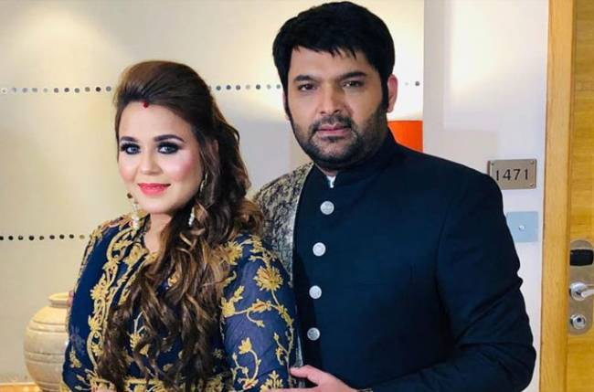 Kapil Sharma and wife Ginni blessed with baby girl