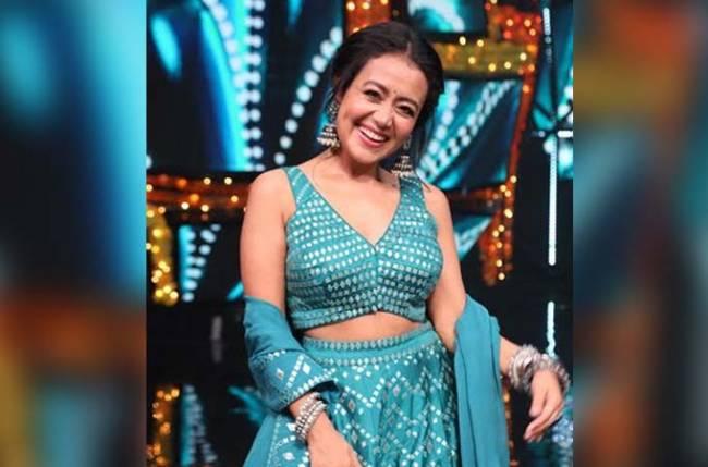 Image result for इंडियन आइडल वीकेंड शो में नेहा कक्कड़