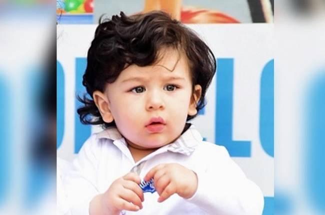 THIS child artist looks replica of Taimur Ali Khan!