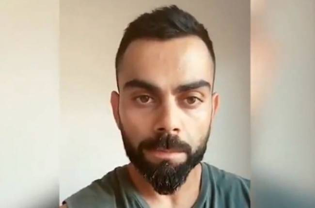 I have seen people moving in groups, please follow lockdown: Kohli urges
