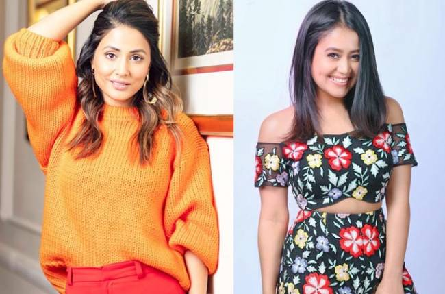 Hina Khan And Neha Kakkar Stunning Videos While Trying New Instagram Feature Reel Videos