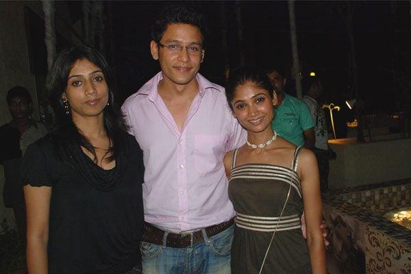 Ratan  Rajput with Abhishek Rawat with wife