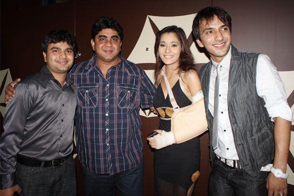 Ashita Dhawan poses with hubby Sailesh Gulabani