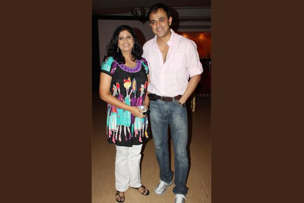 Sumeet with his on-screen wife
