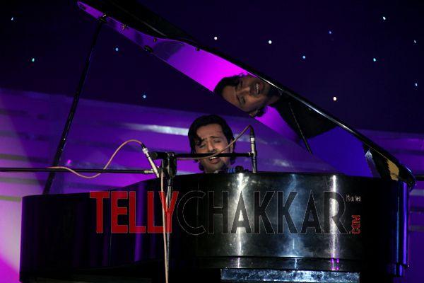 Hussain kuwajerwala with Mini Mathur