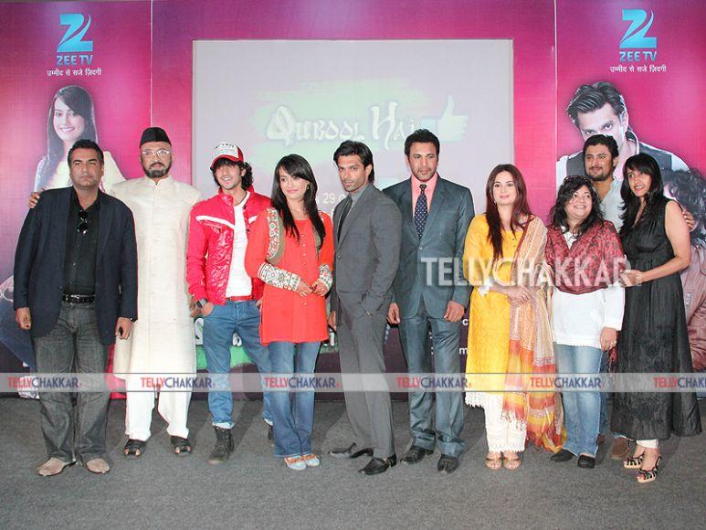 Qubool Hai team