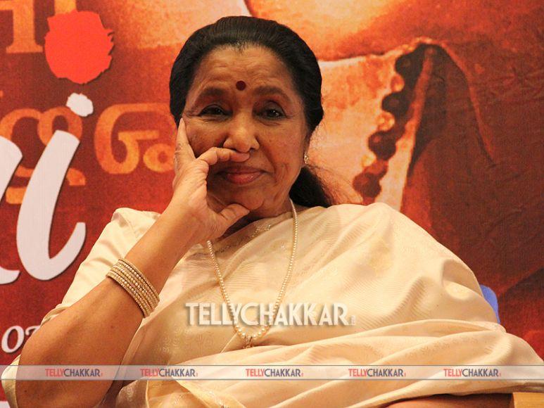 Asha Bhosle And Sachin Tendulkar