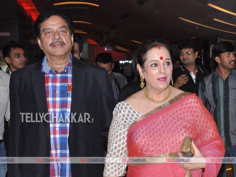 Shatrughan Sinha, Asha Bhosle and Rekha