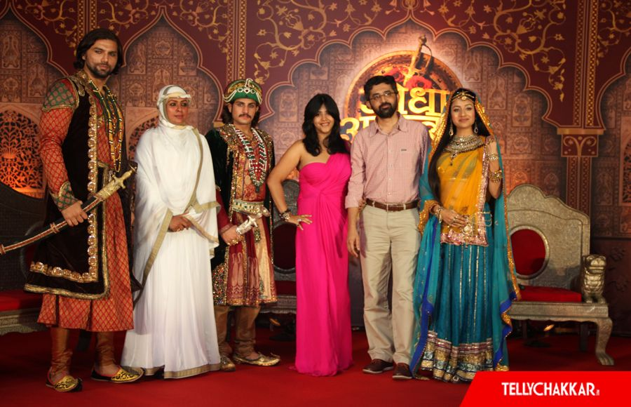 Launch of Zee TV's Jodha Akbar