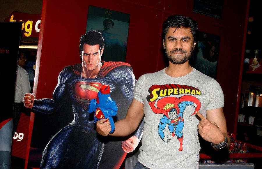 Gaurav Chopraa at the Premier of Man of Steel