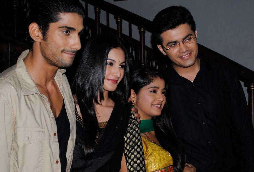 Prateik Babbar,Amyra Dastur,Nishad Vaidya and Chandni Bhagwanani