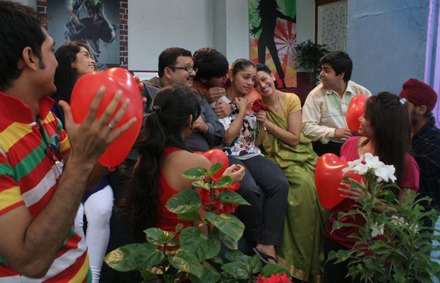 Flash mob sequence in Sony TV's Amita Ka Amit