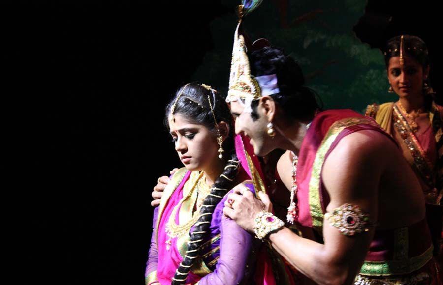 Janmashtami celebration on 'Amita Ka Amit'