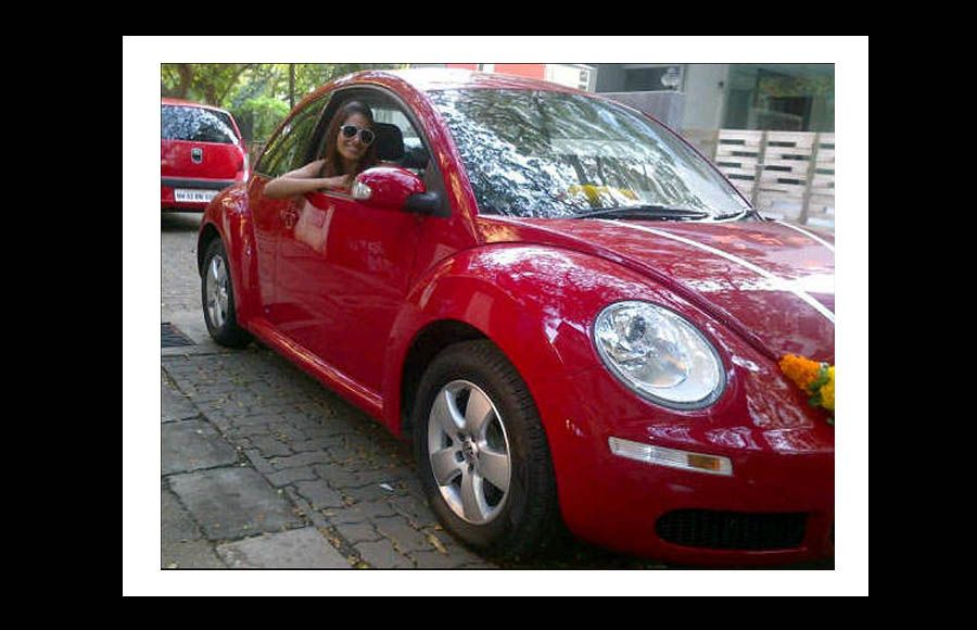 Bipasha Basu shows off her brand new car she calls 'Brad'