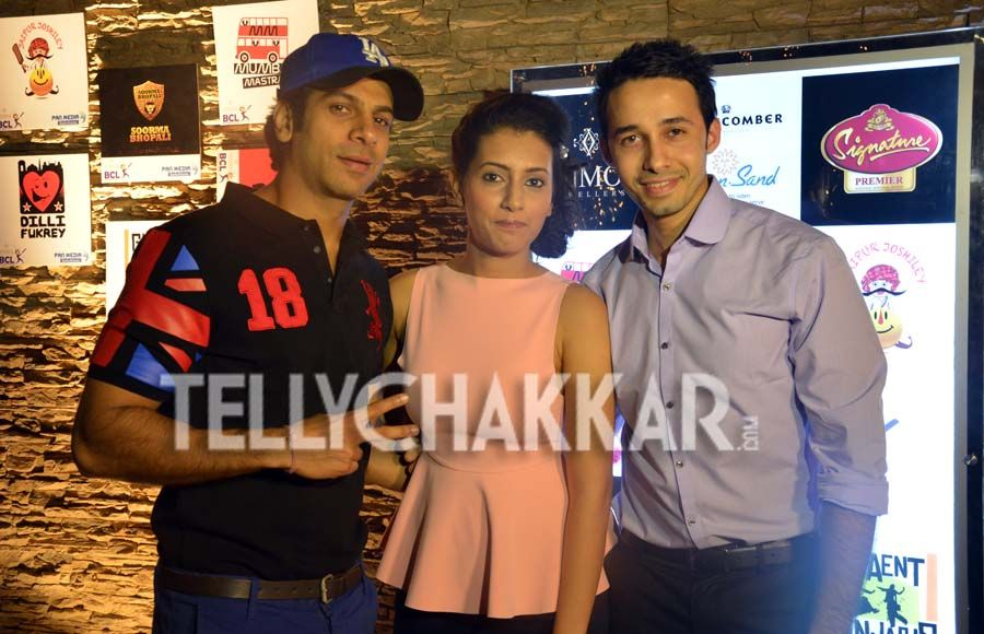 Celebs galore at the launch of Box Cricket League