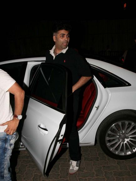 Bombay Velvet wrap up party