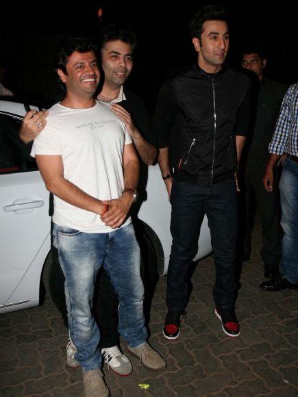 Bombay Velvet wrap up party