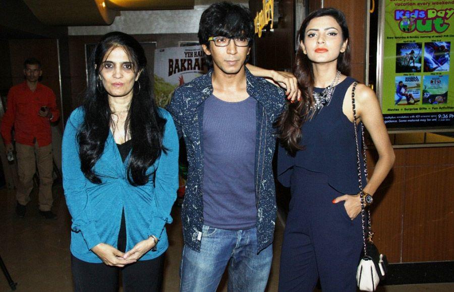 Subhash Ghai with Anshuman Jha and Janaki Vishwanathan