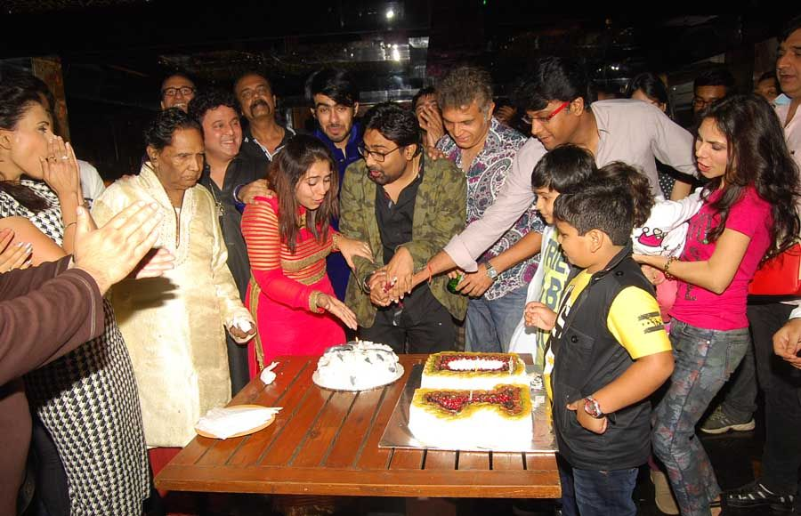 Writer-Producer Amit Aryan's happening birthday bash