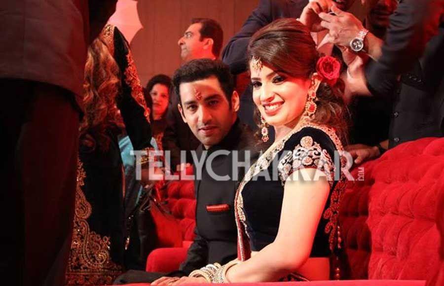 wedding pics kanan malhotra and aakanksha dhingra