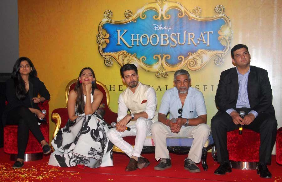 Trailer launch of 'Khoobsurat'