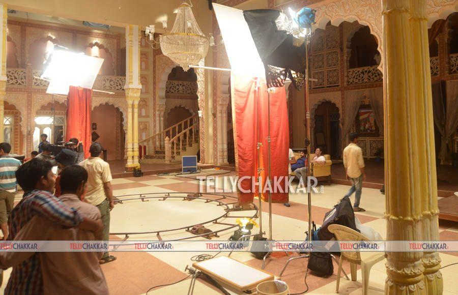 On the sets: Colors' Rangrasiya
