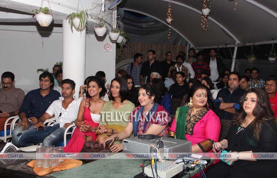 Ravi Dubey, Nia Sharma, Achint Kaur,Delnaaz Irani And Apara Mehta