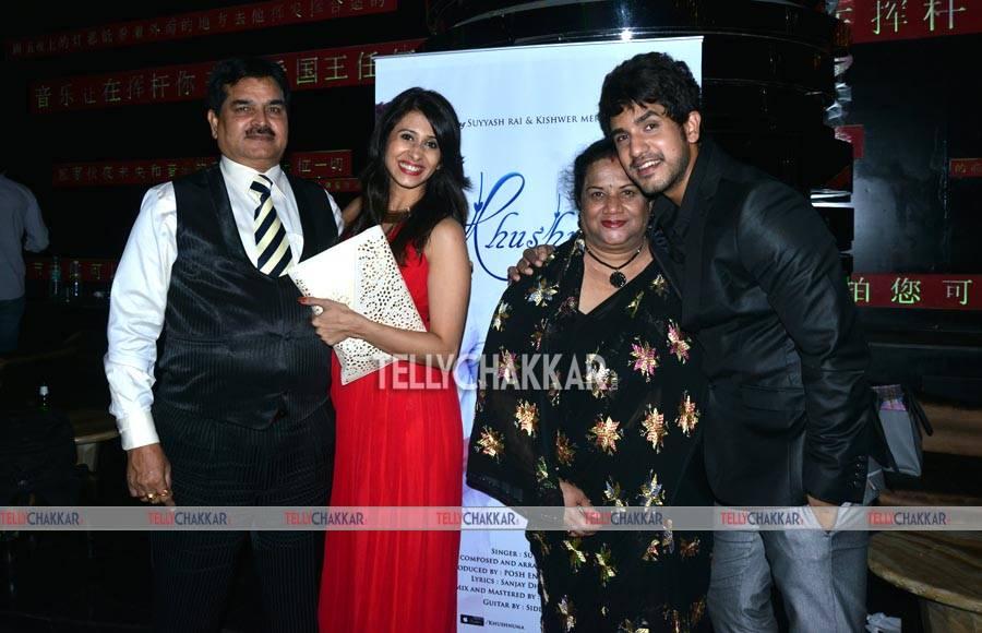 Starry launch of Suyyash Rai's single Khushnuma