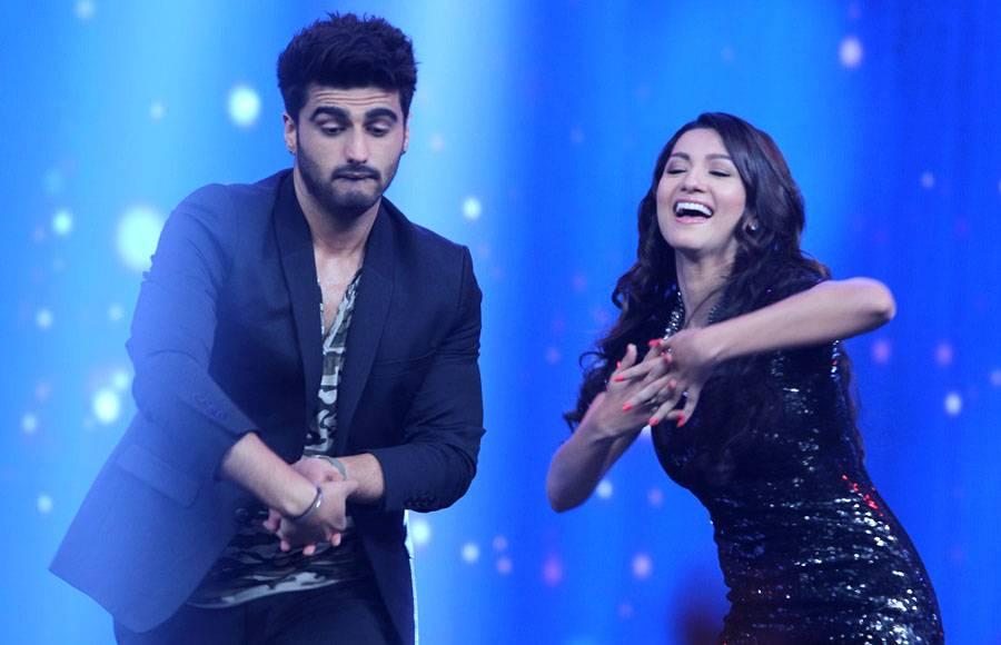 Arjun Kapoor, Deepika Padukone and singer Yo Yo Honey Singh