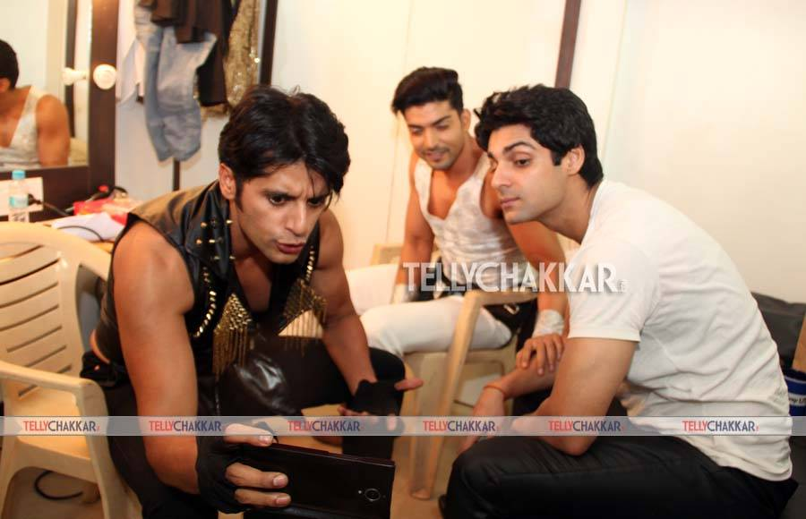 Karanvir Bohra, Gurmeet Choudhary and Karan Wahi