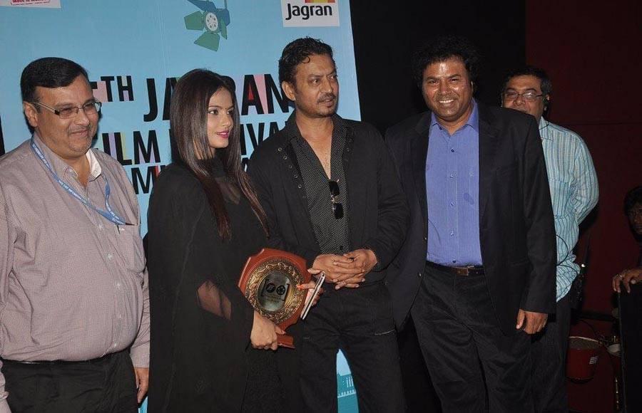 Irrfan Khan and Neetu Chandra