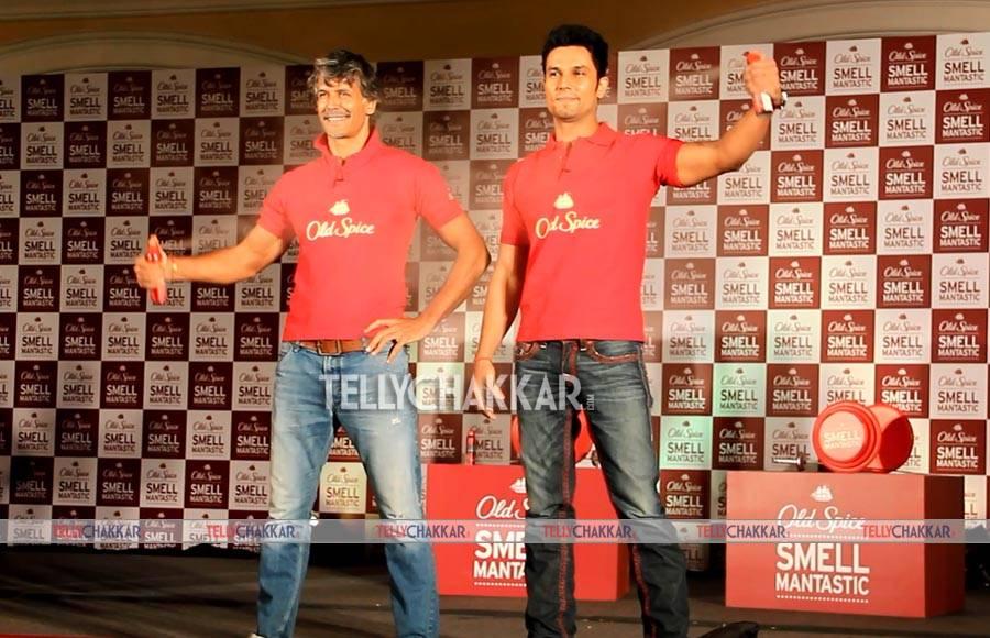Milind Soman and Randeep Hooda