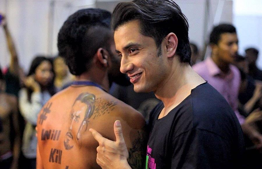 Kill Dil cast gets inked